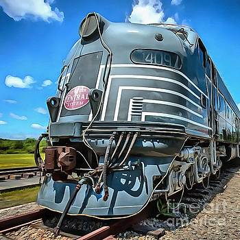Edward Fielding - New York Central Locomotive Painting