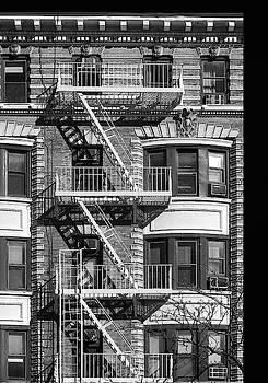 New York City Fire Escapes by Dave Mills