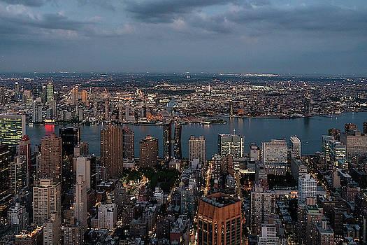 Sharon Popek - New York City Hudson River