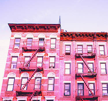 New York City in Pink by Vivienne Gucwa