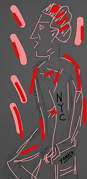 New York City man  by Yonko Kuchera