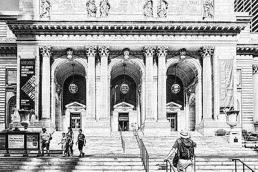 Sharon Popek - New York Public Library Black and White