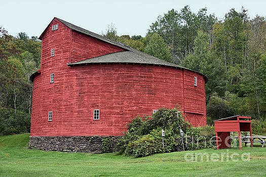 New York Red Barn by Catherine Sherman