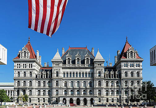 New York State Capitol Building by John Greim
