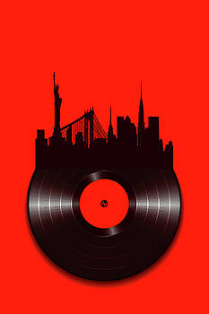 New York Vinyl by Tony Rubino