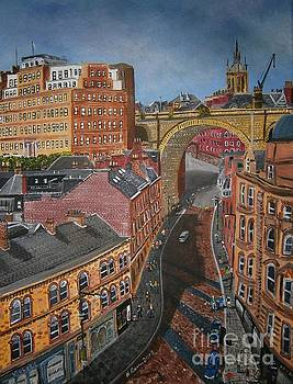 Newcastle, The Slide by Neal Crossan