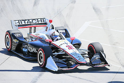 Newgarden Into Turn 1 by Shoal Hollingsworth