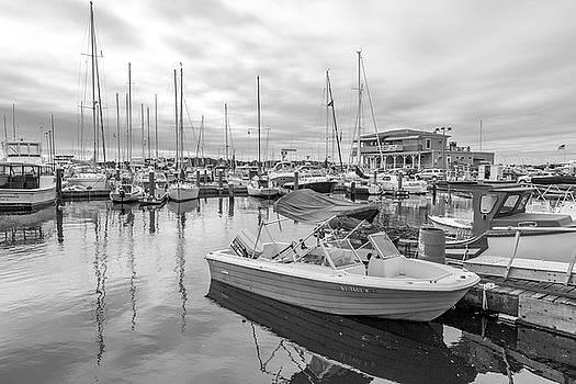 Newport Rhode Island Harbor by Betsy Knapp