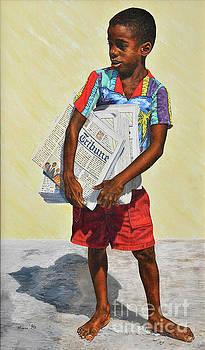 Newspaper Boy by Nicole Minnis
