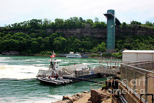 Niagara Parks Water Police Service by Doc Braham