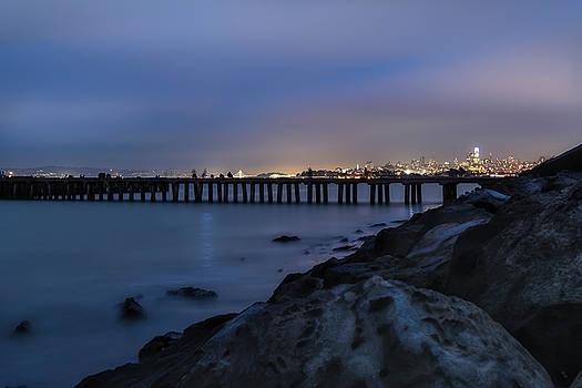 Night pier- by JD Mims
