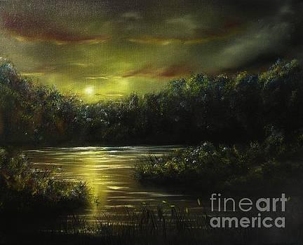 Nightfall by Lia Van Elffenbrinck