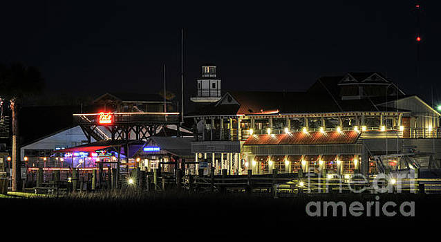 Nightlife on the Creek by Dale Powell