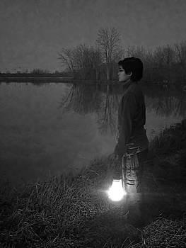 Night Walk - In Mendota Illinois by Jayson Tuntland