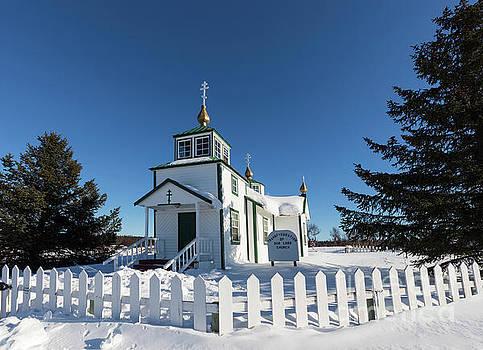 Ninilchik Russian Orthodox Church by Louise Heusinkveld