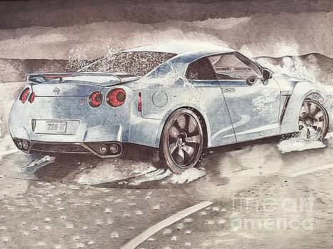 Nissan GT-R by Oleg Kozelskiy