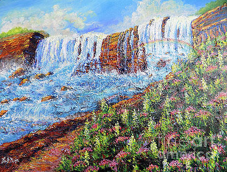 Nixon's Marvelous View Of Niagara Falls by Lee Nixon