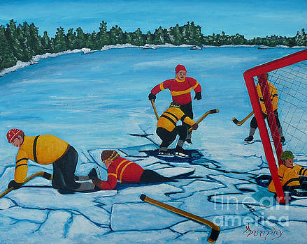 No Goal by Anthony Dunphy