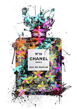 No.19 Chanel Perfume - 130 by Prar Kulasekara