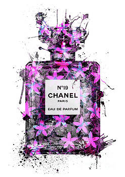 No.19 Chanel Perfume - 131 by Prar Kulasekara