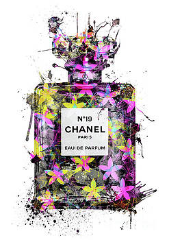 No.19 Chanel Perfume - 132 by Prar Kulasekara