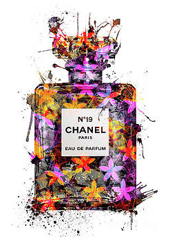 No.19 Chanel Perfume - 133 by Prar Kulasekara