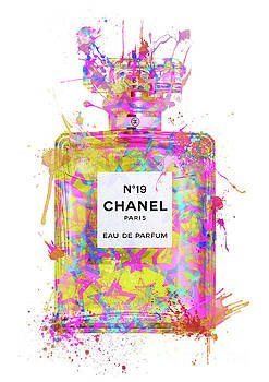 No.19 Chanel Perfume - 134 by Prar Kulasekara