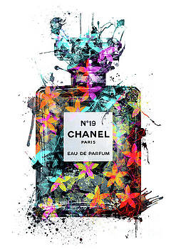 No.19 Chanel Perfume - 137 by Prar Kulasekara