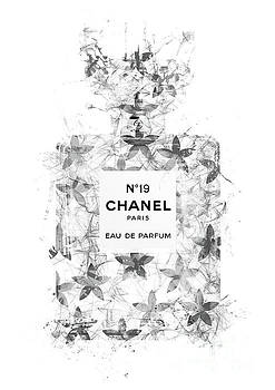 No.19 Chanel Perfume - 138 by Prar Kulasekara