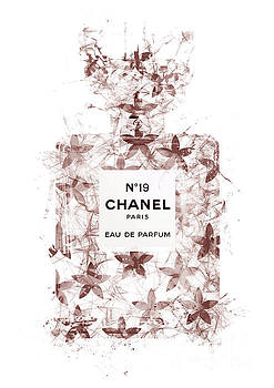 No.19 Chanel Perfume - 139 by Prar Kulasekara