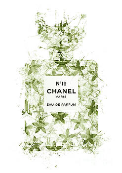 No.19 Chanel Perfume - 140 by Prar Kulasekara