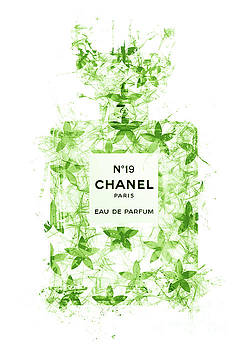 No.19 Chanel Perfume - 141 by Prar Kulasekara