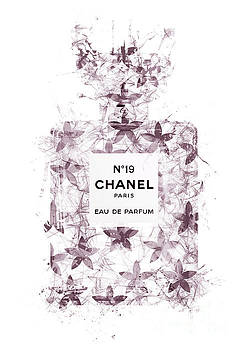 No.19 Chanel Perfume - 142 by Prar Kulasekara