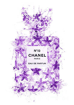 No.19 Chanel Perfume - 144 by Prar Kulasekara