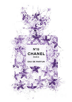 No.19 Chanel Perfume - 145 by Prar Kulasekara