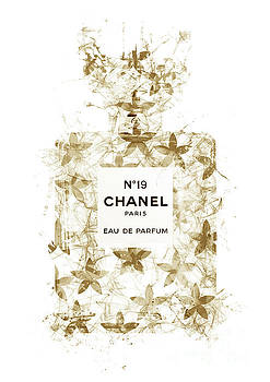 No.19 Chanel Perfume - 146 by Prar Kulasekara