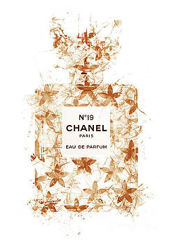 No.19 Chanel Perfume - 147 by Prar Kulasekara