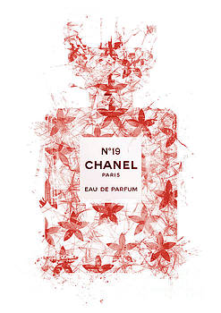No.19 Chanel Perfume - 148 by Prar Kulasekara