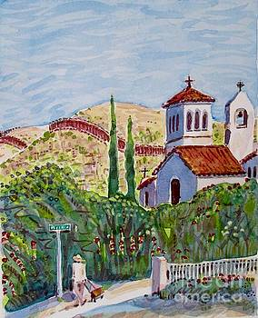 Nogales Cityscape by Virginia Vovchuk