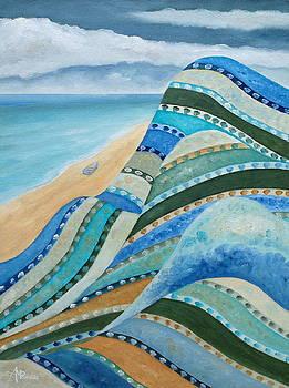 Nonforlorn Blue Cliffs by Angeles M Pomata