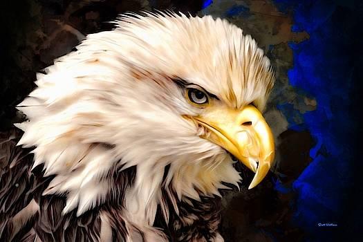 North American Eagle  by Scott Wallace Digital Designs