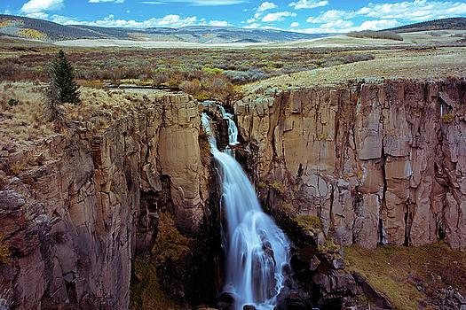 North Clear Creek Falls near Creede, CO by John Bartelt