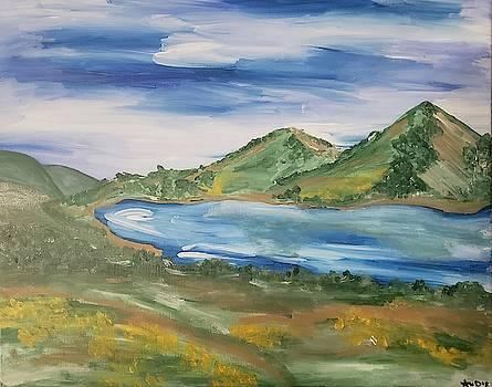North End of Lake by Ariana Dagan