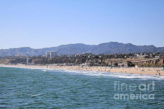 Diann Fisher - North end Santa Monica Beach