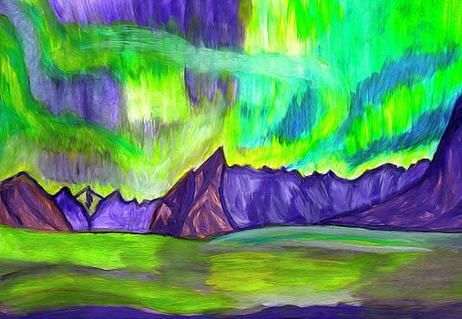 Northern Lights by Dobrotsvet Art
