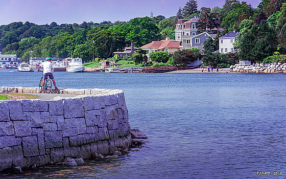 Northwest Arm at Sir Sanford Fleming Park by Ken Morris
