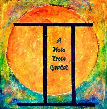 Note from A Gemini by Carol Stanley