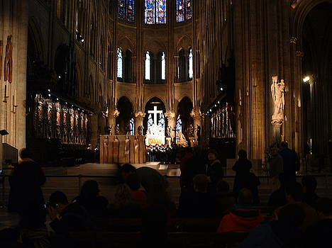 Notre Dame Altar area by Gilbert Pennison