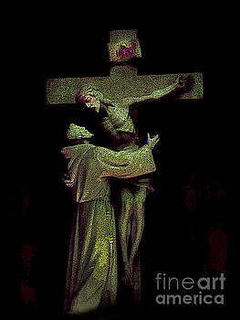 Notre Dame Du Cap Jesus by Al Bourassa