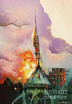Notre-Dame by Lin Petershagen